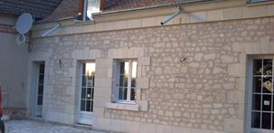 Taille de pierre agrandissement maison ravalement de for Agrandissement maison limite de propriete